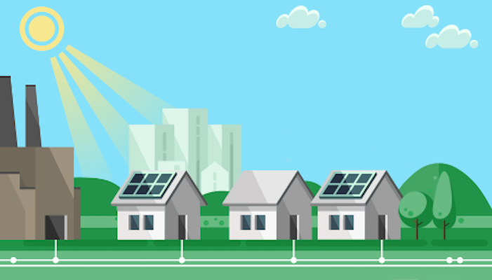Using blockchain for optimal utilization of local flexibility in energy grids